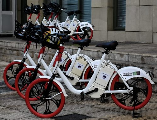BrainBox: The Ministry of Environment with electric bicycles.